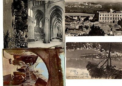 French/Italian postcards - good condition generally