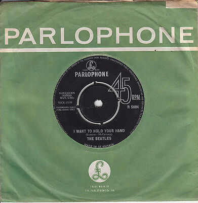 BEATLES *I WANT TO HOLD YOUR HAND* 1st 1963 PARLOPHONE