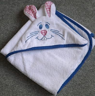 Fisher Price Hooded Rabbit Bath Towel - infant/baby (Ideal for Easter)