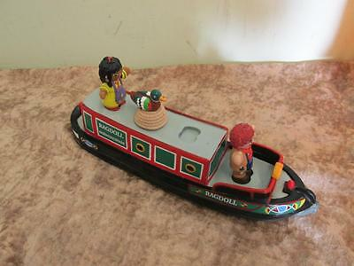 Rosie & Jim Ragdoll Narrowboat Canal Boat Bath Toy Complete with Figures RARE