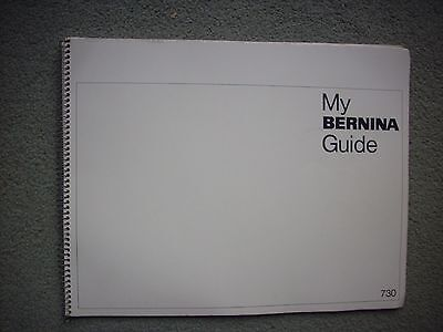 My Bernina Guide - Sewing Machine Instruction Booklet 1968