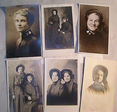 Salvation Army - - LIQUIDATING LEFT OVER  VINTAGE PHOTOS - VARIETY OF 6 OFFERED