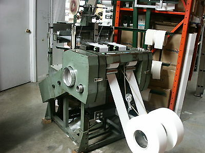 Muller NC 2/110 needle loom and creel, narrow weaving machine & yarn conditioner