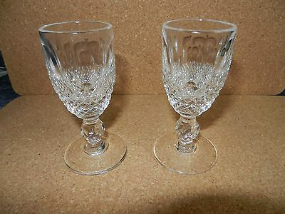 A Pair Of Waterford Crystal Colleen Liqueur Glasses