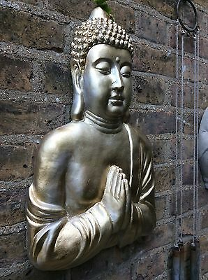 Very Large Divine Buddhas Wall Plaque. (5kg) Unique From The Designer Sius.