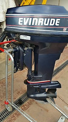 EVINRUDE JOHNSON 40hp VRO OUTBOARD MOTOR EXCELLENT CONDITION FREE SHIPPING