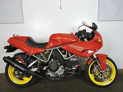 Supersport  1995 Ducati 900 Supersport Parts Project Motorcycle Desmodue NO TITLE!