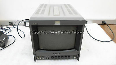 "Sony PVM-8041Q Trinitron 8"" Color Video Monitor"