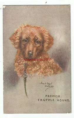 Dogs by Artist Maud West Watson 3 Vintage Postcards