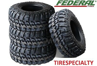 4 New Federal Couragia MT Tires 6 PLY 108Q LT 33X12.50R15 33 12.50 15 33125015
