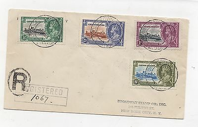 Caymen Islands. 1935 Silver Jubilee. Very fine used on cover.