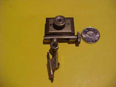 original vintage stanley tools  compass tool  lead scribe clamp holder hallmark
