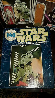STAR WARS vintage 1977 Stormtrooper JIGSAW PUZZLE