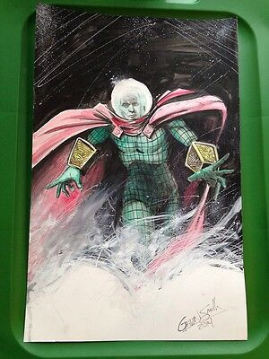 Spiderman Mysterio Sketch And Colored By Gavin Smith-signed original Commission