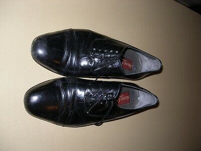 Mens Black Formal Shoes Roland Cartier EU Size 42 UK Size 7.5 8 Made In Spain