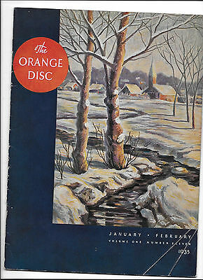Gulf Oil Orange Disc Magazine of 1935