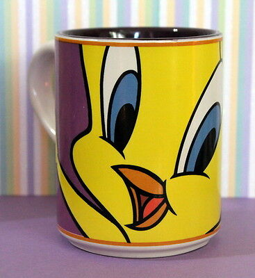 REDUCED! 1998 Warner Brothers Looney Tunes Tweety Bird Gibson Coffee Mug