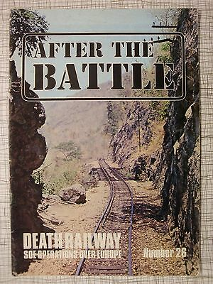 After The Battle # 26 (Death Railway, PoW, SOE, Maquis, Hudson, Luxembourg, WW2)