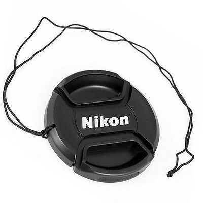 NIKON  LC-52  front camera  lens cap for 52mm filter thread - Snap-clips