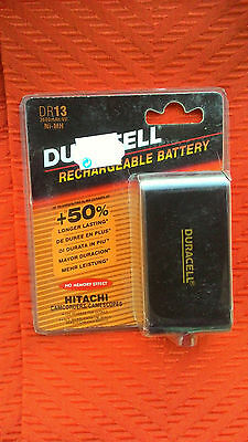 Duracell DR 13 Camcorder Battery for HITACHI and Others