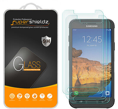 3X Supershieldz for Samsung Galaxy S7 Active Tempered Glass Screen Protector
