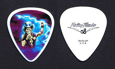 Ted Nugent Uncle Sam Cartoon Guitar Pick 2008 Rolling Thunder Tour