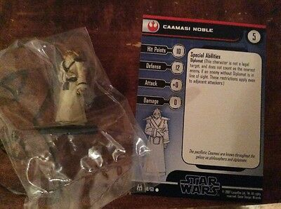 Caamasi Noble, Star Wars Miniatures WoTC, Force Unleashed