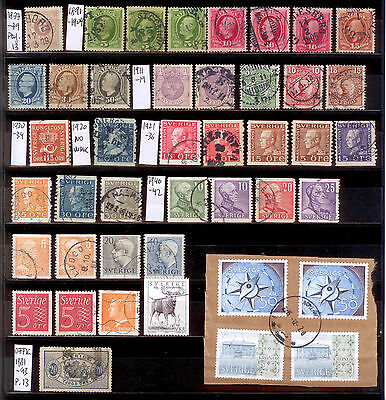Sweden early stamp lot
