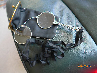 Beautifully Crafted Lorgnette - Marcasite Art Deco Decoration - Snap Out Style
