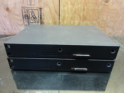 2x Cisco Systems 1800 Series 1800 Router w/ 64 and 32MB Flash no face plates ~