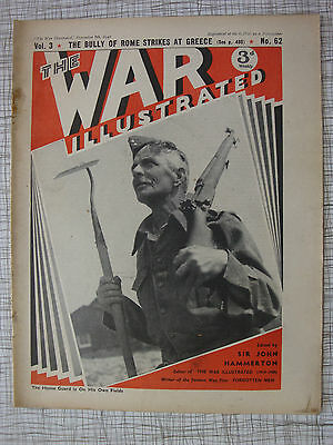 The War Illustrated # 62 (Greece, Home Guard, Malta. Berlin, Jersey, Police WW2)