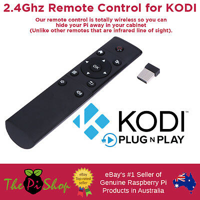 Remote Control for Kodi OpenElec - Plug n Play Nano USB Receiver 2.4Ghz