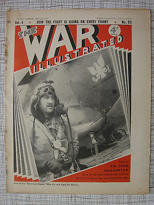 The War Illustrated # 83 (Greece, Albania, Turkey, Lofoten, Keren, Blitz, India)