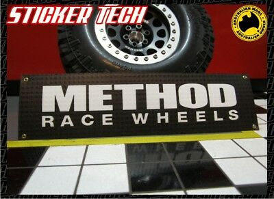 1/10 Scale Method Race Wheels Work Shop Garage Banner Sign Suits Rc Rock Crawler