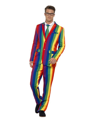 Over The Rainbow Suit Smiffys Fancy Dress Costume