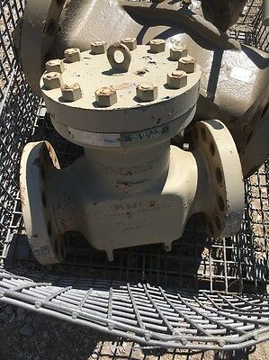 "6"" 600 Flanged Wheatley Piston Check Valve, Nace, Body: WCC"