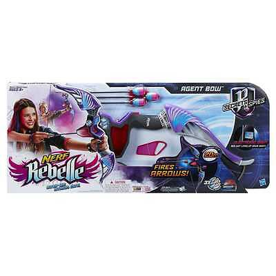 New Hasbro Nerf Rebelle Secrets And Spies Agent Bow A8862 - Purple