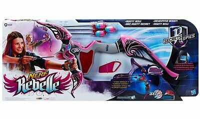 New Hasbro Nerf Rebelle Secrets And Spies Agent Bow B0452 - Pink