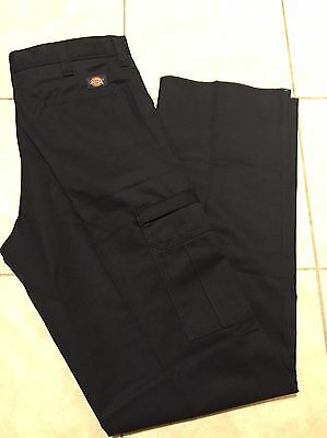 Dickies Cargo Workpants Mens Industrial Relaxed Fit Navy 2112372