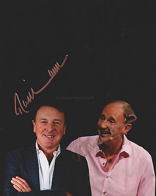 Phil Tufnell & Jonathan Agnew HAND SIGNED 8x10 Photo, Autograph, Cricketer