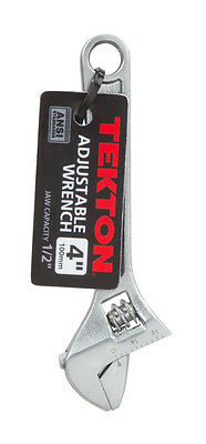 4 in. Adjustable Wrench TEKTON 23001