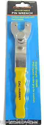 Adjustable Universal Angle Grinder Spanner Flange Hub Pin Wrench Hand Tool - NEW