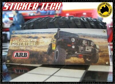 1/10 1/12 Scale Arb With Jeep Garage Work Shop Miniature Banner Suits Rc Rc4Wd