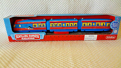 Schylling Express Railroad Wind-Up Tin Toy Train