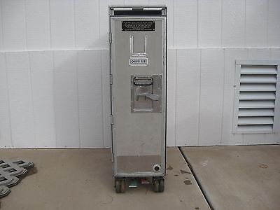 1 Airline  Full Size Airline Galley Service Cart Trolley Bar And Beverage