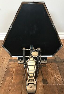 Ultimate Percussion UP Vintage Electronic Bass Drum Pad And Cable 1980s RARE!!