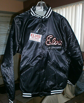 ELVIS PRESLEY  CONCERT JACKET   EXTRA Large    WITH  Elvis concert  PHOTOS 1970s