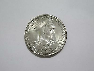 Philippines 1947 Peso Hero Wwii Crown Size World Silver Coin Old Collection Lot