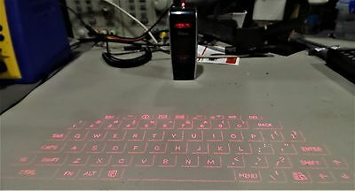 Wireless Bluetooth Laser Projection keyboard for Phone Laptop Tablet
