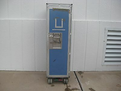 1  Half Size Airline Galley Service Cart Trolley Bar And Beverage